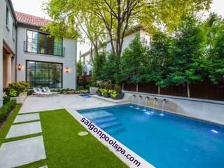 Tư vấn thiết kế bể bơi sân vườn:   by Saigonpoolspa