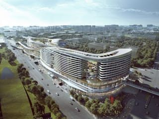 Aedas wins competition to design new tourist hub for Sanya, China:   by Aedas