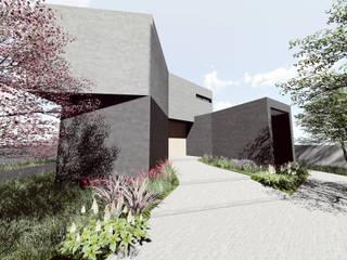 Vivienda unifamiliar en Aljucer, Murcia: Casas de estilo  de Santa-Cruz Arquitectos