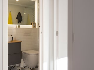 slvr estudio Modern Bathroom