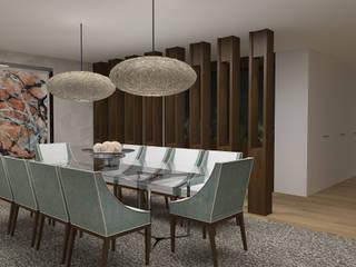 Apartamento Maputo Salas de jantar modernas por 4Ponto7 Moderno