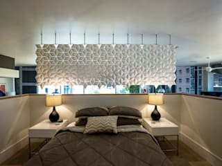 BREATHTAKING BEDROOM AND LIVING ROOM DIVIDER de Bloomming Moderno