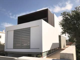 CASA UNIFAMILIAR AISLADA EN MENORCA: Casas de estilo  de iibbarquitectes