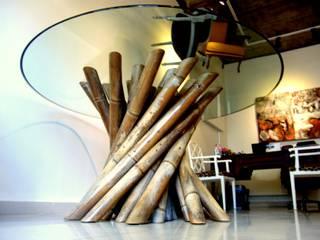 Güdü ART DESIGN Paysagisme d'intérieur Verre