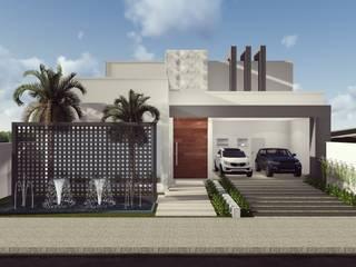 Projeto Residencial Casas modernas por Giovana Pitondo Arquitetura e Interiores Moderno