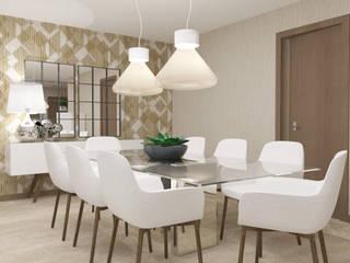 Moradia em Luanda Salas de jantar modernas por 4Ponto7 Moderno