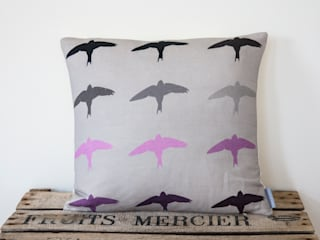 Swifts Cushion: modern Living room by Lomas & Lomas