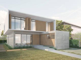 Casa HB Casas modernas por Paralelo Arquitetura e Comunicação Moderno