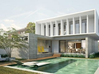 Casa HB: Casas  por Paralelo Arquitetura e Comunicação