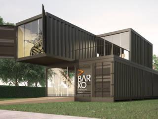 Barko Comunicação Espaços comerciais industriais por Paralelo Arquitetura e Comunicação Industrial