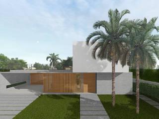Casa Veitchia Casas modernas por Paralelo Arquitetura e Comunicação Moderno