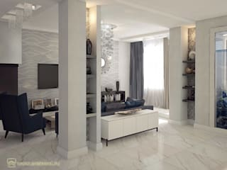 Вира-АртСтрой Minimalist living room Grey