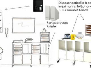 Cabinet médical...Réagencement et organisation rationnelle de l'espace: MCCB - Conseil en décoration et réaménagement- Bureau moderne