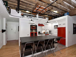 Cocinas de estilo  de KBR Design and Build, Industrial