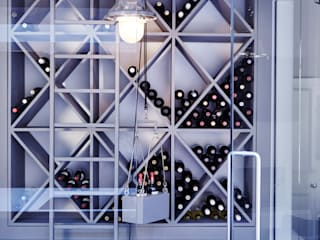 Residential Extension, Croydon Adventure In Architecture Modern wine cellar