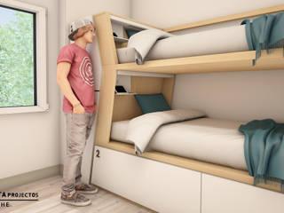 Beliche Hotéis modernos por Trinta por uma Linha Moderno