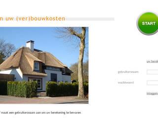 Case in stile in stile Moderno di watkostbouwen.nl