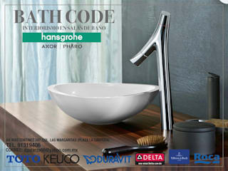BATH CODE: Baños de estilo  por BATH CODE Interiorismo en salas de baño