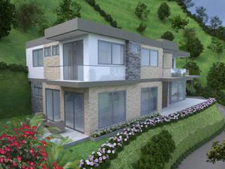 Casa 1 Las Brisas: Casas de estilo  por Viewport - Servicio de renderizado