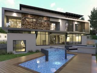 Rumah oleh Metako Projex, Modern
