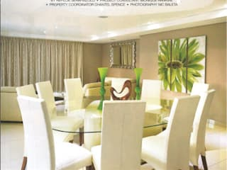 House Eye of Africa Golf & Residential Estate I:  Dining room by Metako Projex