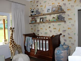 Brown Nursery by Taryn Flanagan Interiors Classic