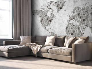 Carta da parati artistica HouseholdAccessories & decoration Grey