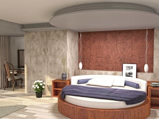 modern Bedroom by eNArch.info