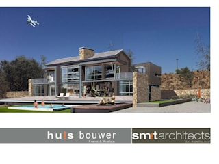 House Tredenham, South Africa: modern Houses by Sm!t Architects