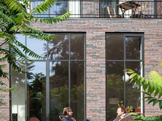 Stadsvilla Kralingen Moderne huizen van Architectenbureau Paul de Ruiter Modern