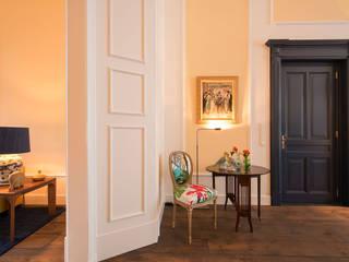 Renovatie en inrichting monumentale stadsvilla Eclectische woonkamers van Atelier Denessen Architecture Eclectisch