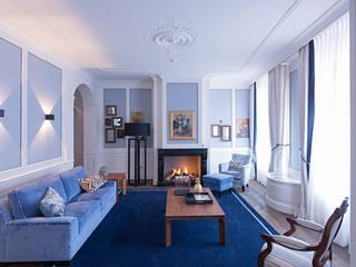 Chambre de style  par Atelier Denessen Architecture