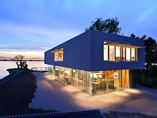 Villa Röling Minimalistische huizen van Architectenbureau Paul de Ruiter Minimalistisch