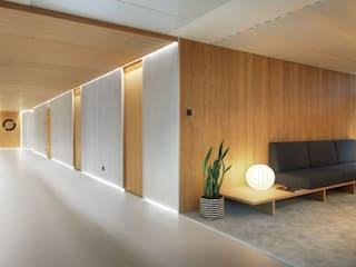 Oficinas de estilo moderno de 담음건축디자인주식회사 Moderno