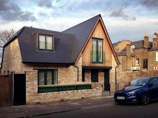 New House in Rockland Road, Putney, SW15 2LN 4D Studio Architects and Interior Designers モダンな 家 レンガ
