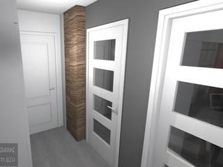 Konepcja mieszkania: styl , w kategorii  zaprojektowany przez Limonki Studio Wojciech Siudowski