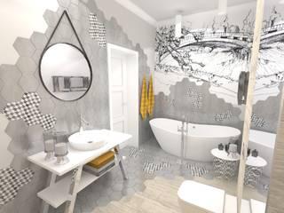 Projekt apartamentu w Szczecinie Limonki Studio Wojciech Siudowski