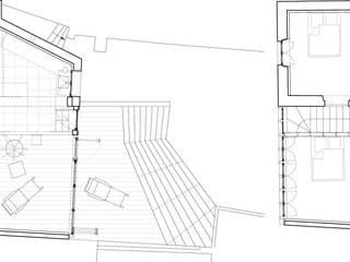 Extension & Surélévation d'une maison de ville par Descombes & Thieulin architectes Moderne