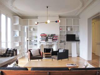 Rénovation d'un appartement - Paris 18e par Descombes & Thieulin architectes Moderne