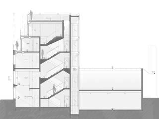 Surélévation d'un immeuble à Paris par Descombes & Thieulin architectes Moderne