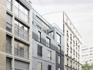 Surélévation d'une maison de ville par Descombes & Thieulin architectes