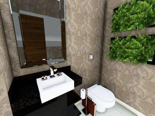 Interiores para Sala de Diretoria Comercial por Giovana Pitondo Arquitetura e Interiores Clássico