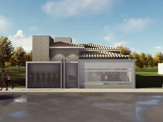 Projeto Residencial Casas clássicas por Giovana Pitondo Arquitetura e Interiores Clássico