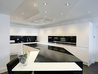 Mr & Mrs Davidson's Monochrome Kitchen:  Kitchen by Room