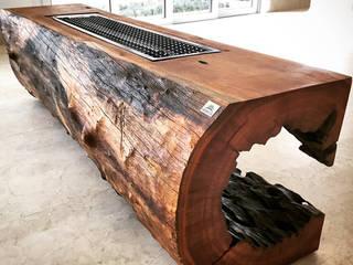 ArboREAL Móveis de Madeira Salas/RecibidoresChimeneas y accesorios Madera maciza Acabado en madera