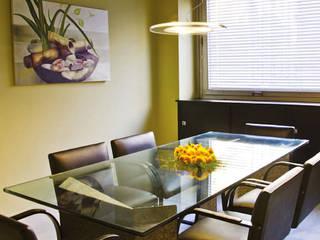 Piso de Oficinas Edificios de oficinas de estilo minimalista de Majo Barreña Diseño de Interiores Minimalista