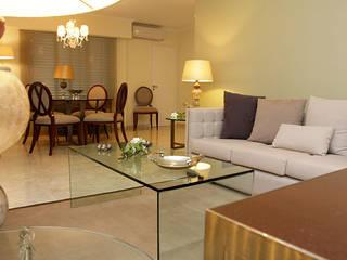 CASA ELEGANTE Salones clásicos de Majo Barreña Diseño de Interiores Clásico