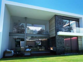 現代房屋設計點子、靈感 & 圖片 根據 TARE arquitectos 現代風