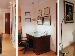 CALOR DE HOGAR: Estudios y oficinas de estilo  por Majo Barreña Diseño de Interiores