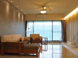 Living room by 鹿敘空間設計, Asian